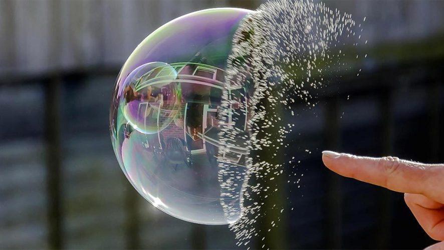 bitcoin bubble burst